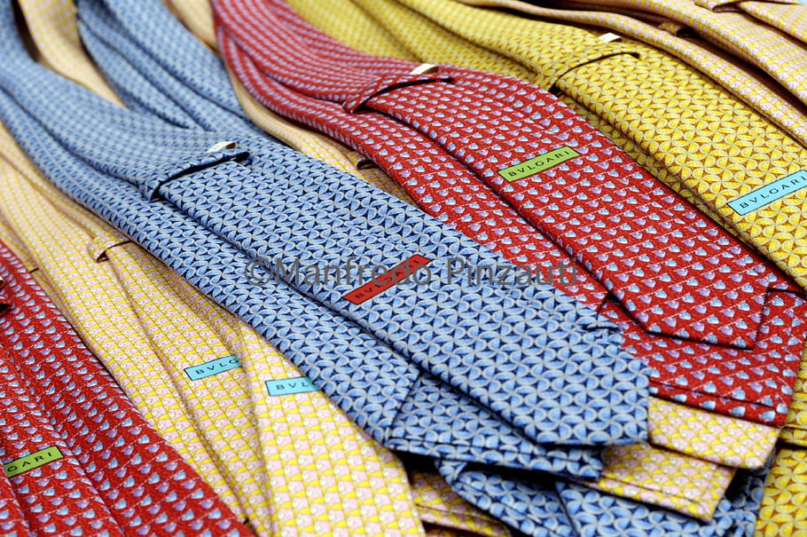 Corporate/T.E.S. Bulgari ties .